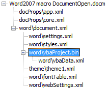 Tools to extract VBA Macro source code from MS Office